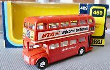 CORGI TOYS N°469 LONDON BUS MINT IN BOX SCALE:1/50