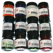 Scolaquip 12 Colour 28ml Drawing Inks Artist Caligraphy For Dip Pen & Brush
