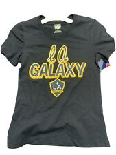 Los Angeles Galaxy Girls M (7/8) T-Shirt MLS Officially Licensed