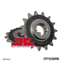 JT Rubber Cushioned Front Drive Motorcycle Sprocket JTF1538RB 15 Teeth