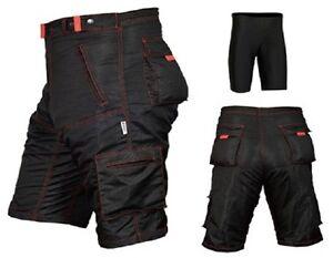 MTB Cycling Shorts,Mountain Bike,Off Road,CoolMax Padded Inner Lycra Liner R/sti