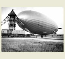1936 Hindenburg Blimp Lakehurst PHOTO New Jersey, Airship Zeppelin