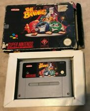 Brainies in original Box SNES  Super Famicom Import PAL Super Nintendo