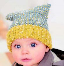 CA005B Knitting Pattern Children's T Bag Hat in DK Yarn Age 0 to 7 Years