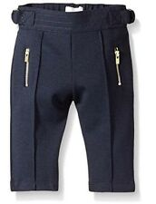 $145 NEW Chloe Baby Girls US 3 Months Milano Trousers Pants Bottoms Logo Zipper