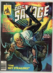 DOC SAVAGE magazine #6 (Marvel 1976) FN condition! NO RES!