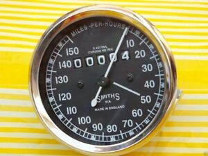 Royal Enfield Motorcycle Speedometer 150 mph 80 mm M18x1.5 thread