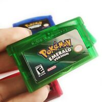 Nintendo Pokemon Reproductions Emerald Version GBA Gameboy Advance SHIPS USA