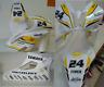 Adesivi moto carene Yamaha R6 racing gialli