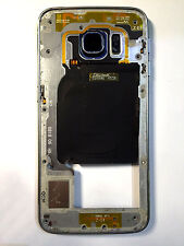 Original Samsung Galaxy S6 Edge G925F Rahmen Gehäuse Mittelrahmen Schwarz Blau