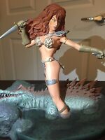 RED SONJA ARTIST PROOF Dynamite Entertainment She-Devil With Sword Statue 27/49