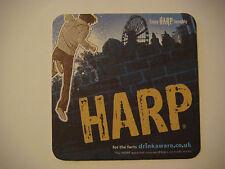 Beer Coaster ~ Guinness Brewery Harp ~ Awaken Your Taste Buds ~ Dundalk, IRELAND