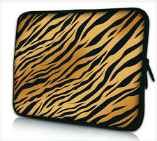 """17-17,3"""" LAPTOP SLEEVE CARRY CASE BAG 4 ALL LAPTOPS, FREE POST *PANTHER STRIPES*"""