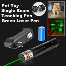 900Miles Laser Pointer Pen 532nm Green Beam Lazer+Rechargeable Battery+Charger