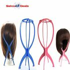 Foldable Wig Hat Cap Stand Hair Holder Mannequin Dummy Head Stable Display Tool