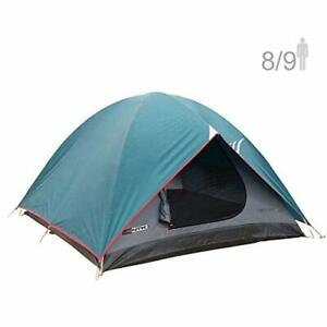 NTK Cherokee GT 8 to 9 Person 10 by 12 Foot Outdoor Dome Family Camping Tent ...