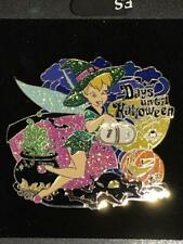 Disney Pin - Disney Store Halloween Countdown Tinker Bell Witch - Jumbo NOC