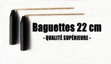 BAGUETTES PARALLÈLES DE SOURCIER EN LAITON 22CM - Baguettes coudées