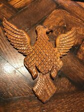 Vintage Pennsylvania Carved wood  EAGLE naivee primitive FOLK ART