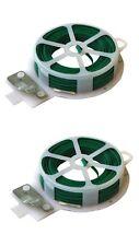 60 M Garden Twist Wire Flexible & Dispenser Cutter Plant Support Ties Trellis