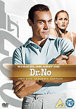 DR DOCTOR NO DVD JAMES BOND 007 ULTIMATE EDITION Sean Connery New UK