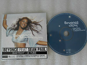 CD-BEYONCE-BABY BOY-Feat SEAN PAUL- (CD SINGLE)-2003-