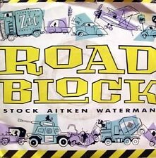 """STOCK AITKEN WATERMAN - roadblock 45"""""""