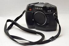 Leica R8 R 8 R-8  Nera con Motor-Winder Coperchio e Tracolla