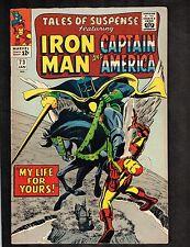 Tales of Suspense #73 ~ Iron Man & Captain America ~ 1965 (7.0) Wh