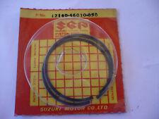 SEGMENT de PISTON SUZUKI RM 80 années 81/82 cote +0,50