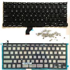 100% New Macbook Retina A1502 US English Keyboard ME864 ME865 ME866 Backlight