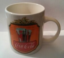 COCA COLA COMPANY CERAMIC LOGO COFFEE MUG GREAT FOR ANY COLLECTION!