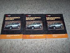 2000 Mitsubishi Montero Sport Shop Service Repair Manual ES LS XLS LTD 3.0L 3.5L