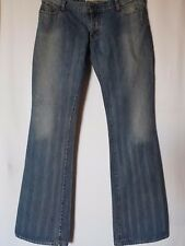 "WOMEN'S JEANS GUESS BOOTCUT DISTRESSED COTTON SIZE 12 LEG 33"" FREE POSTAGE"