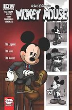 Mickey Mouse # 1 1st Print Subscription Cover IDW NM/MT Walt Disney's