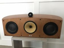 Bowers & Wilkins (B&W) Nautilus HTM1 Center Channel Speaker Cherry Finish