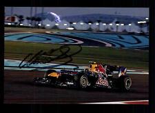 Mark Webber Foto Original Signiert Formel 1 + A 127907