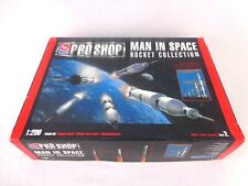 Vintage AMT Pro Shop Man In Space 1/200 Rocket Collection Model Kit Rare
