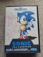 Sonic the Hedgehog (Sega Genesis, 1991) Canada Exclusive Box Art, Not for resale