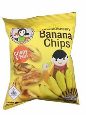 Banana Chips, Banana Crispy, Banana Dried 2 Pair