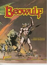 First Comics Beowulf Graphic Novel By Jerry Bingham