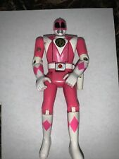 VINTAGE POWER RANGERS PINK POWER RANGER FLIP HEAD KIMBERLY ACTION FIGURE 1993