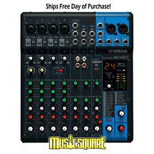 Yamaha MG10XU 10-Input Stereo Mixer w/effects /USB Interface New! Make Offer!