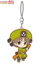 Movic Cardcaptor Sakura Clear Card Rubber Strap Cellphone Charm Syaoran Li NEW