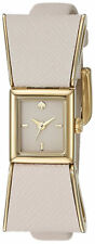 Leather Strap Ladies Watch 1Yru0898 New Kate Spade Kenmare Cream Dial Ivory