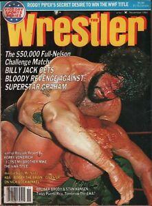 EXC Billy Jack FLAIR WRESTLING magazine 1984 Wrestler Garvin WWF NWA AWA Taylor