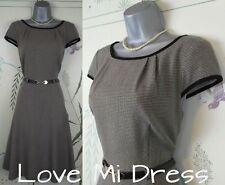 Marks & Spencer - 40's 50's Style Fit & Flare Tea/Day Dress Sz 8 EU36