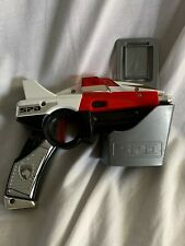 Sentai Dekaranger Power Rangers SPD gun and holster, Bandai