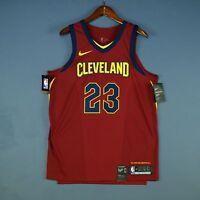 Nike Lebron James Cleveland Cavaliers Authentic Aeroswift Jersey 48 Large laker