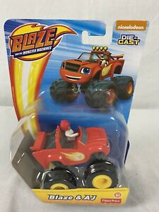 Nickelodeon Blaze And The Monster Machines BLAZE & AJ Die Cast Toy Vehicle